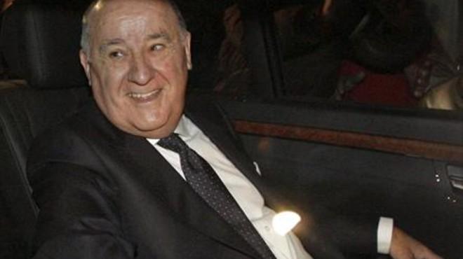 Amancio Ortega guanya 1.108 milions en un any