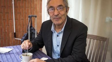 Boualem Sansal, en el Institut Franc�s de Barcelona.