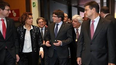 Choque dialéctico entre Puigdemont y Catalá
