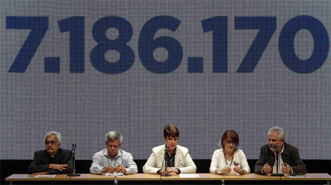 El 98% dels votants en la consulta opositora rebutgen la reforma de la Constitució de Maduro