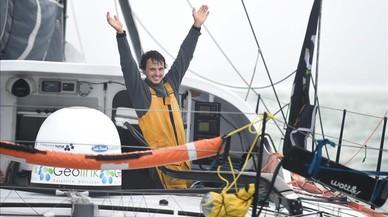Dídac Costa, primer català a completar la volta al món a vela en solitari