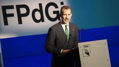 La Cambra de Comerç abandona la Fundació Princesa de Girona després del discurs del Rei