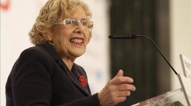 """Carmena assegura que els legisladors es """"van equivocar i molt"""" amb la 'llei mordassa'"""