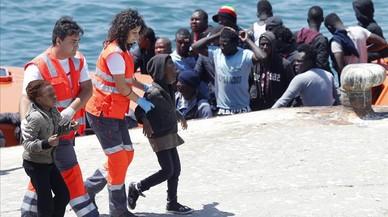 Andalucía alerta del aumento de rescatados de pateras