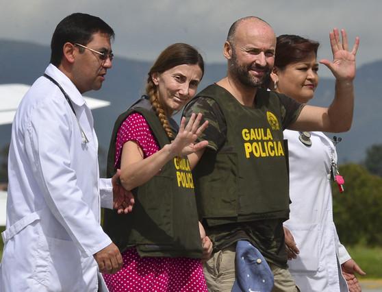 Liberada la pareja española secuestrada hace casi un mes en Colombia