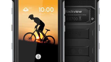 El tel�fono m�vil Blackview BV6000.