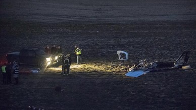 Dos morts a l'estavellar-se una avioneta a Casarrubios del Monte