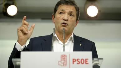 """Javier Fernández: """"Hi ha una cosa pitjor que un Govern en minoria de Rajoy: un Govern en majoria de Rajoy"""""""