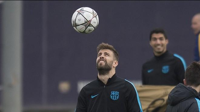 """Piqué: """"Aquests partits són els que ens agraden, es veurà el Barça de les grans nits"""""""