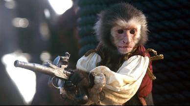 PETA denuncia el maltrato del mono de 'Piratas del Caribe'