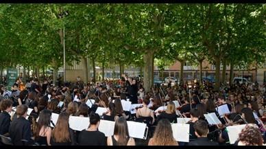 La música envaeix els parcs de Barcelona