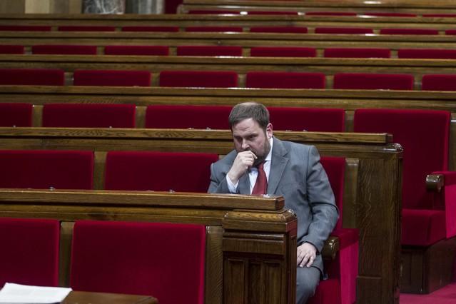 Junqueras cree que el PSC y la CUP se equivocaron con su voto