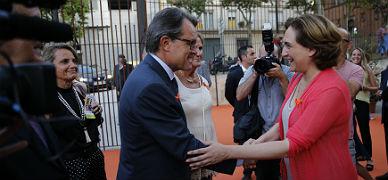 El 'president' Mas y Colau se re�nen este jueves