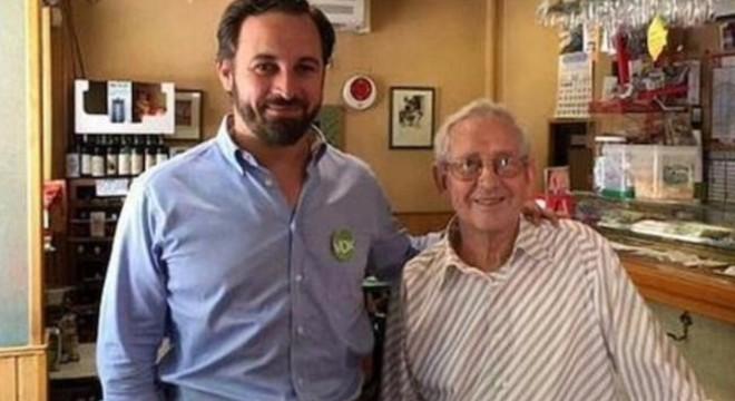 El pare de Monedero tancarà la llista de Vox per al Congrés a Madrid