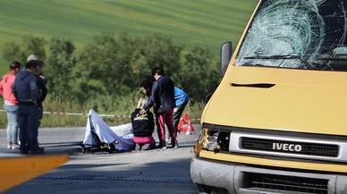 El conductor que va matar Scarponi anava mirant vídeos al seu mòbil