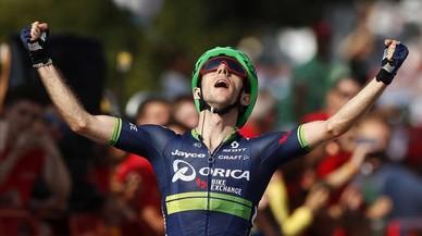 El britànic Yates, de l'Orica, guanya la sisena etapa de la Vuelta