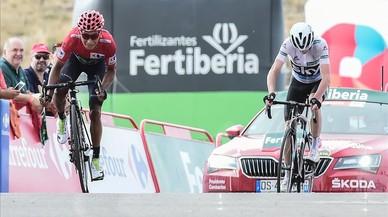 Quintana sentencia la Vuelta i Froome mostra el seu senyoriu