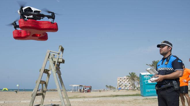 El dron socorrista