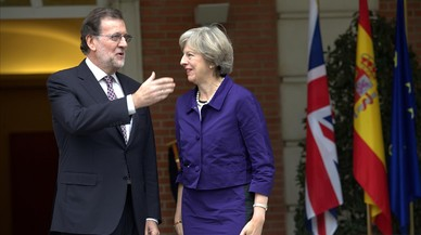 Rajoy garanteix a May suport per frenar el secessionisme al Regne Unit