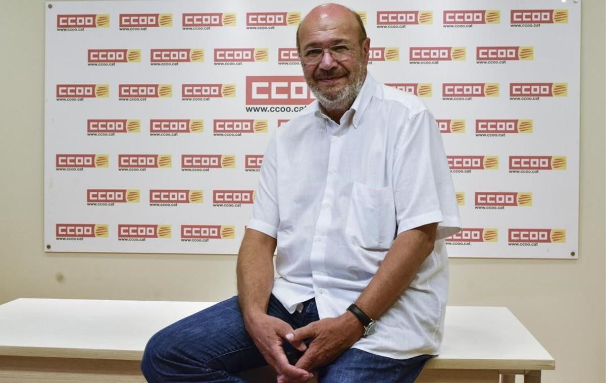 """Joan Carles Gallego: """"S'ha de desincentivar el frau de les hores extres"""""""