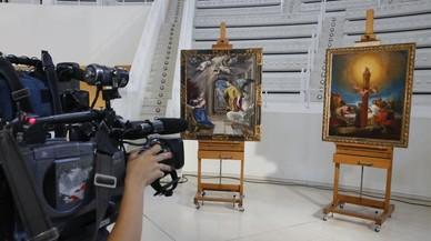 El 'greco' y el 'goya' de Muñoz Ramonet ya se dejan fotografiar en el MNAC