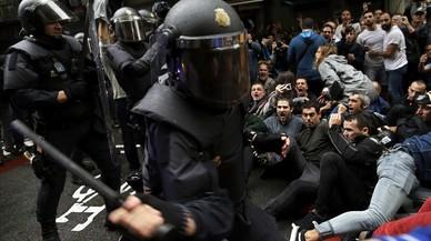 """El cap operatiu de la Policia Nacional durant l'1-O: """"Tot ha sortit bastant bé"""""""