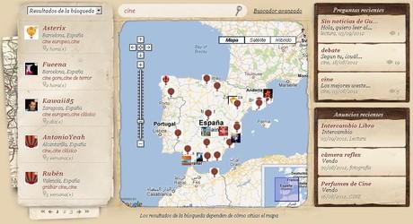 La herramienta permite a los usuarios encontrar a personas a través de un buscador de intereses y un mapa.