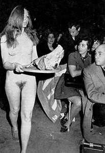 Sharon Krebs, en su solemne aparición en la convención demócrata de 1968.