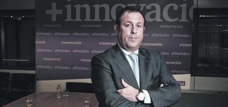 DIRECTIVO. Julio Santos-Olmo, director general de Sorli Discau, en la redacci�n de EL PERI�DICO.