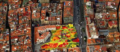 El �rea de Santa Caterina de Barcelona.
