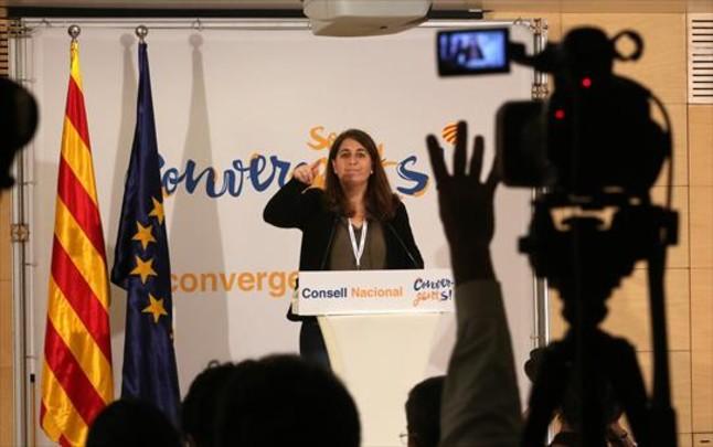 La portavoz de CDC, Marta Pascal.