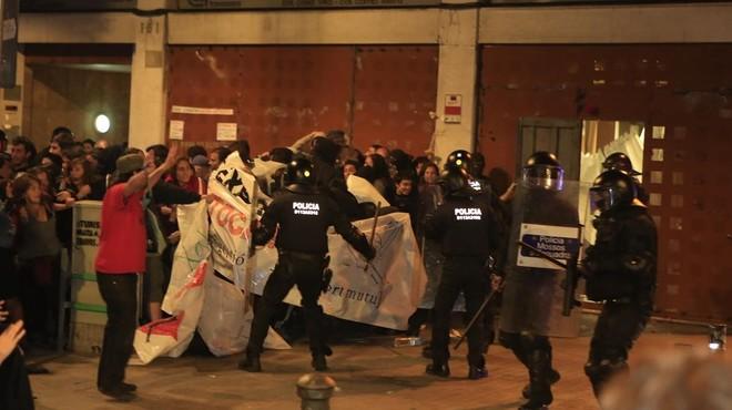 Jané informa que hi ha 11 investigats i 55 identificats pels disturbis de Gràcia