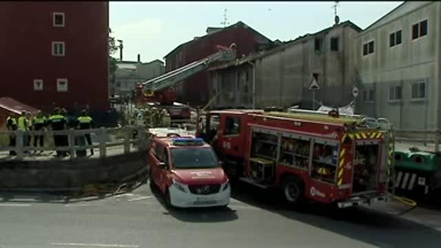 Incendi a Bilbao
