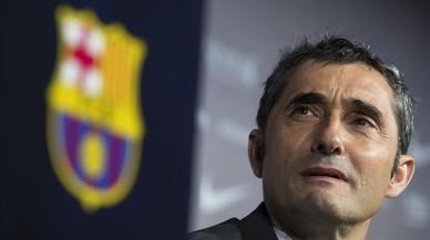 """Valverde: """"Només fent una volta pel museu ja veig la pressió que tinc"""""""