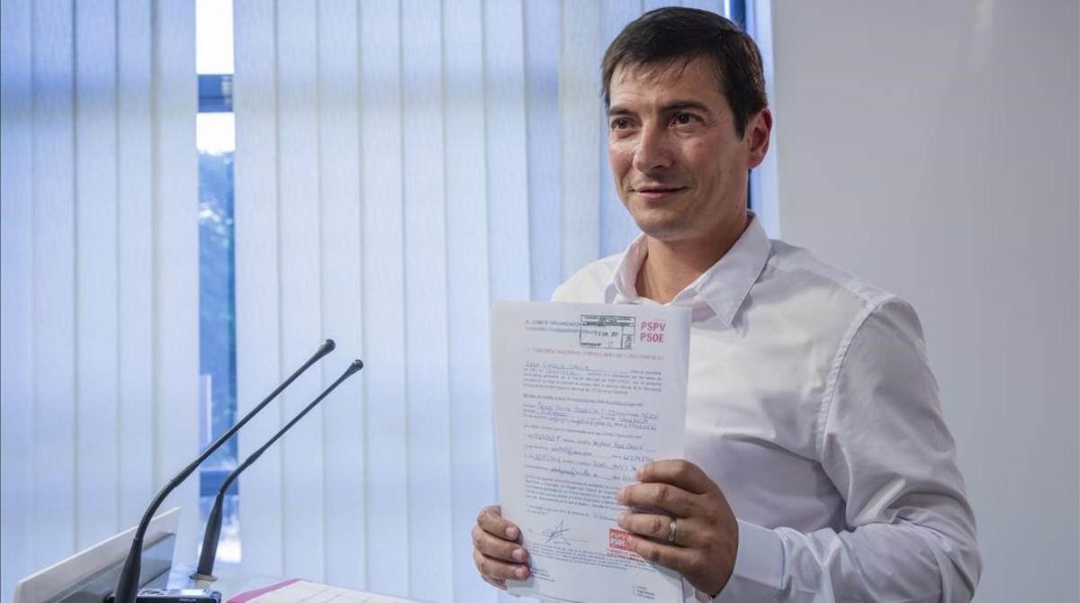 El alcalde de Burjassot, el sanchista Rafa García, candidato al liderazgo del socialismo valenciano.