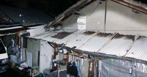 Imagen de la casa donde vivía la víctima y sus padres.