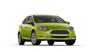 Una de las apuestas eléctricas de Ford es su Focus electrificado.