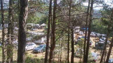 Una festa 'rave' il·legal a Querol amenaça una zona protegida