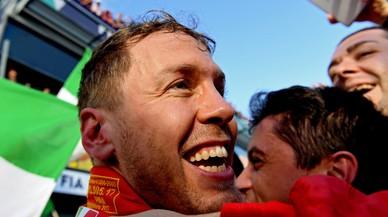 """Vettel reconeix que """"aquest Ferrari és molt divertit de conduir"""""""