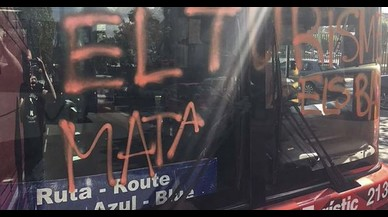 Arran reivindica l'atac al bus turístic de Barcelona