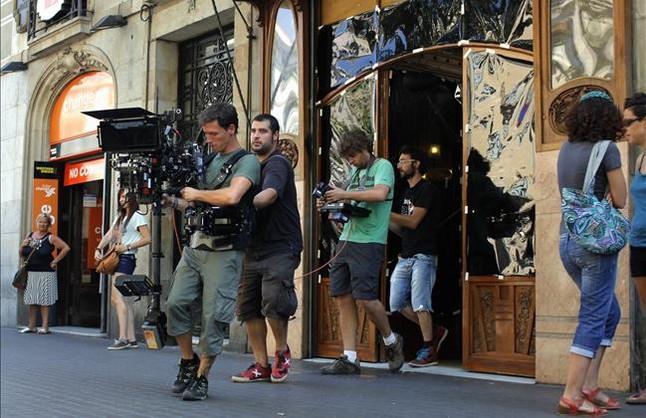 Barcelona es el escenario de una superproducción en 3D