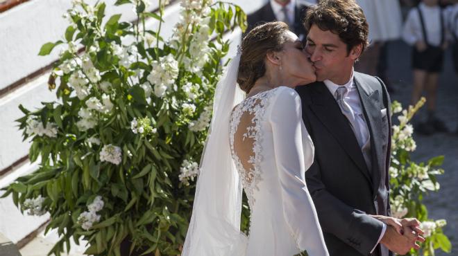 Eva González i Cayetano Rivera ja són marit i muller
