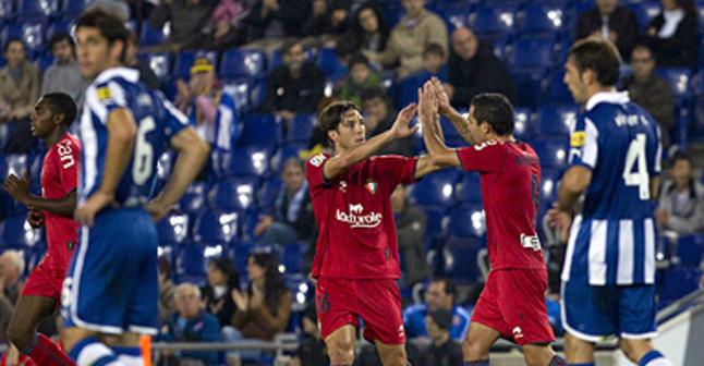 El Espanyol se inmola ante Osasuna (0-3)