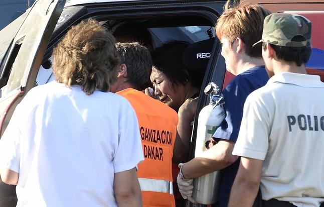 """""""No ha habido muertos, de milagro"""", dice un testigo del Dakar"""