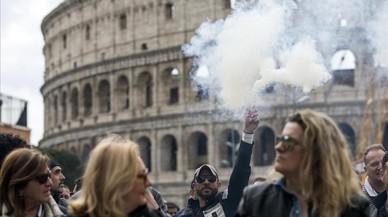 Roma se prepara para acoger el sábado a 40 jefes de Estado y Gobierno por el 60 aniversario de la UE
