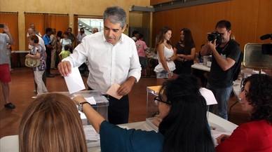 """Homs crida a votar perquè sorgeixi la """"resposta catalana"""" a les """"males arts"""" del PP"""