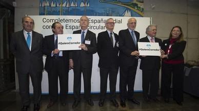 El Congreso exige al Gobierno un impulso inmediato y detallado al corredo mediterráneo