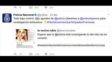 L'idil·li entre Jon Kortajarena i La Vecina Rubia arriba a la policia