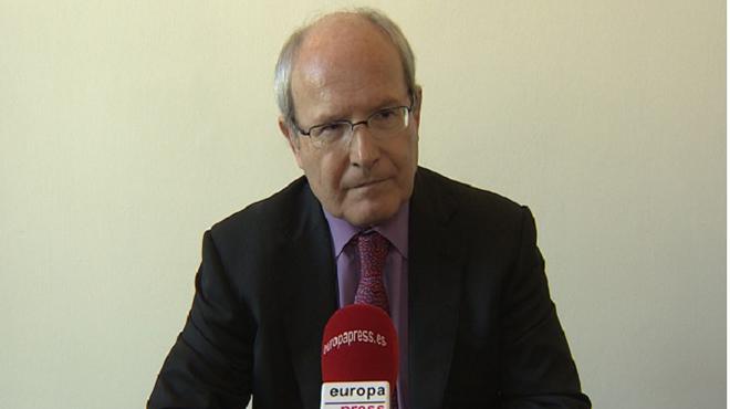 L'expresidentJosé Montilla, a l'entrevista.