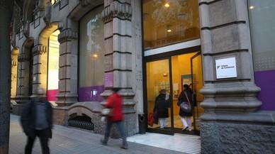 Antigua sede de Tributs de Catalunya donde se instalar� Media Markt